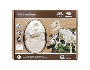 DIY霸王龙考古化石蛋 X251