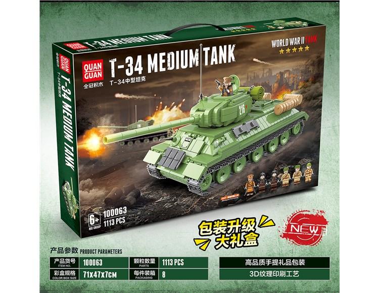 T-34中型坦克 100063
