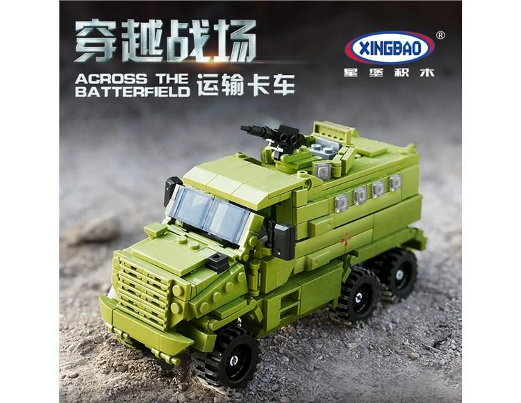 穿越战场运输卡车 06801