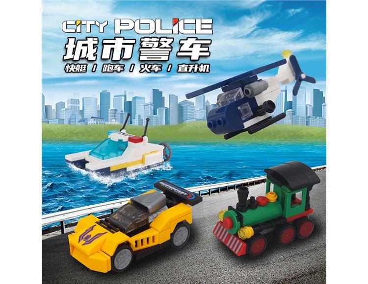 城市警车 58003