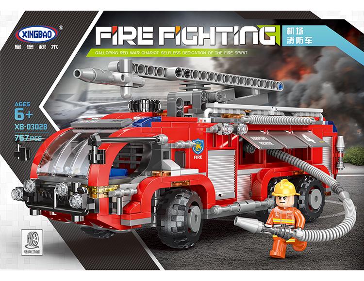 机场消防车 03028