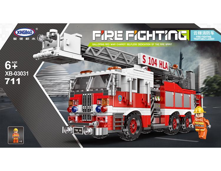 云梯消防车 03031