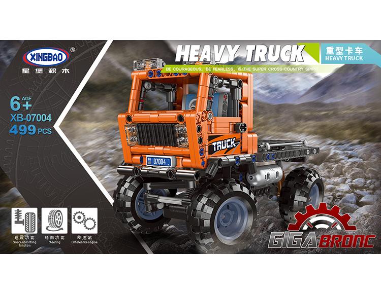 重型卡车 07004