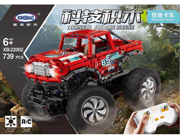 怪兽卡车(红) 22002