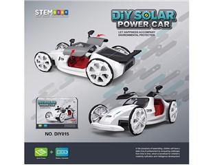 Description of product:DIY 4WD solar  Concept car DIY015