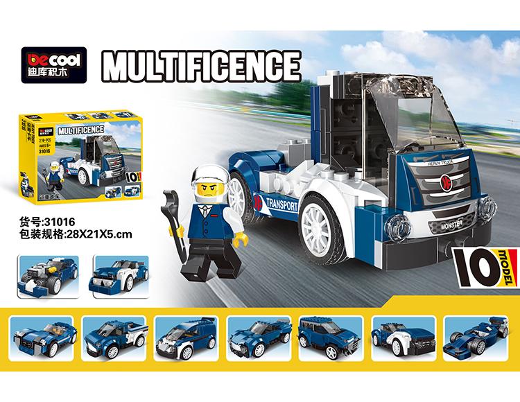 运重卡车(10变) 31016