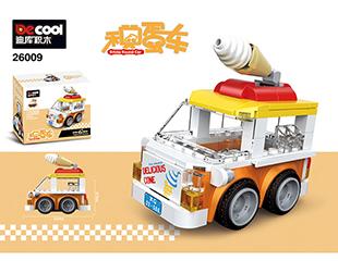 回力积蛋车-冰淇淋车 26009